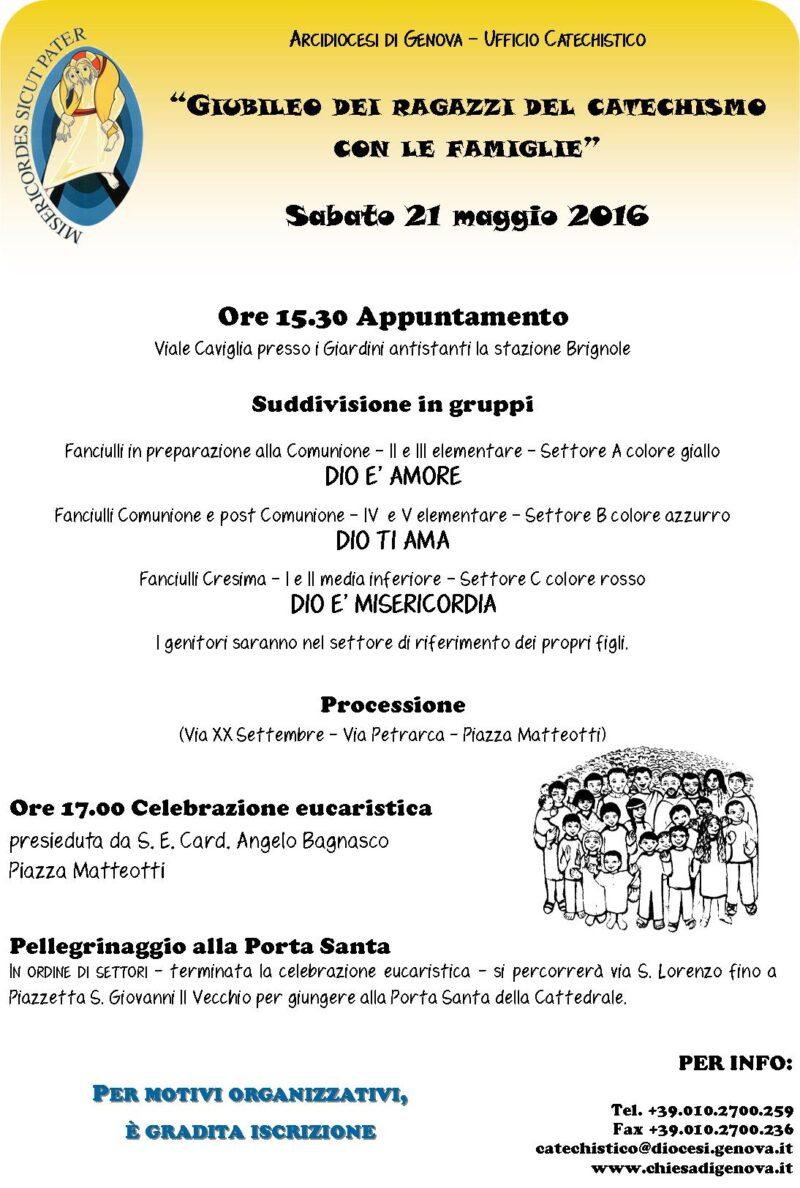 GiubRagazziCatech 21maggio2016