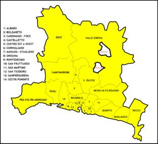 Genova vicariati