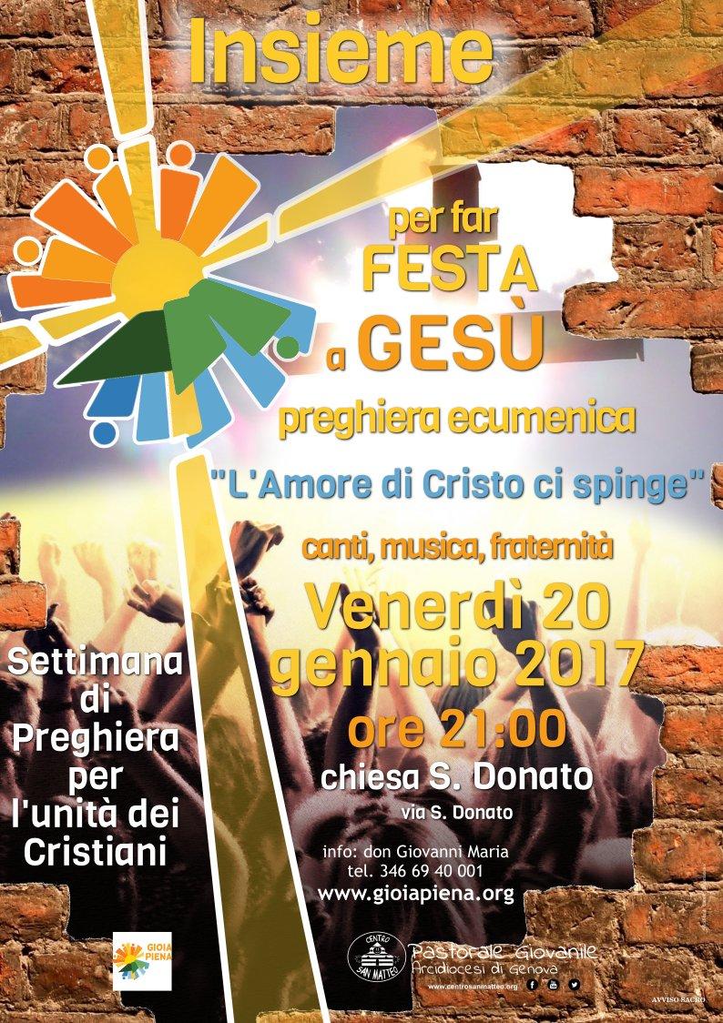 festa preghiera ecumenica2017 locandina