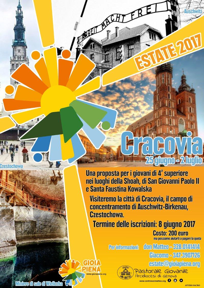 Cracovia gruppo estate