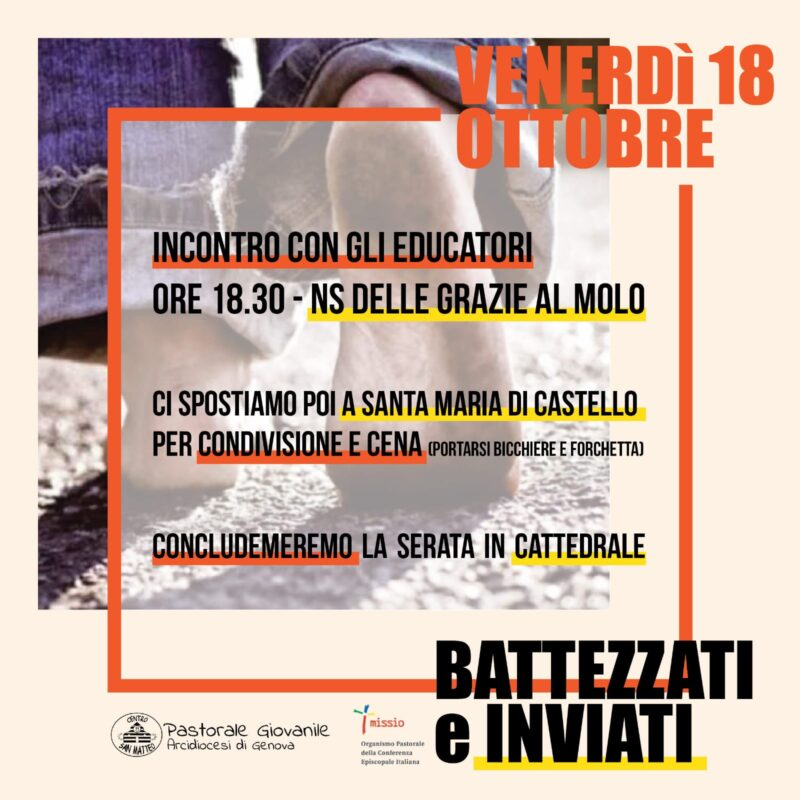 battezzai inviati 18 ottobre